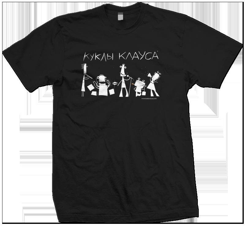 футболка кк черная