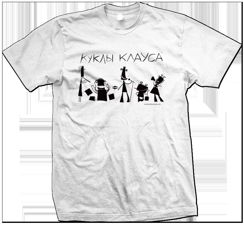 футболка кк белая